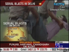"""Caught up in the blast""""…Death on the Indian streets"""