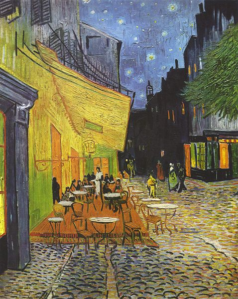 VincentVanGoghCafe Terrace at Night